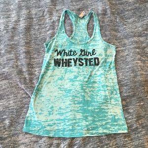 Blue Workout Tank